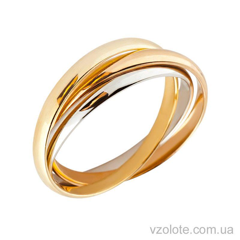 кольцо тринити золото купить