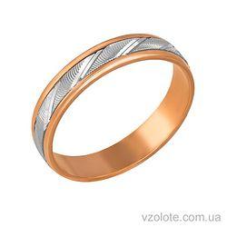Золотое обручальное кольцо (арт. 1036-1)