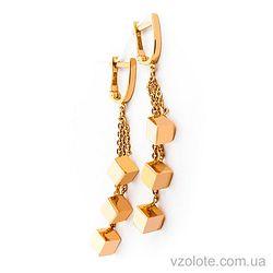 Золотые серьги (арт. 02955)