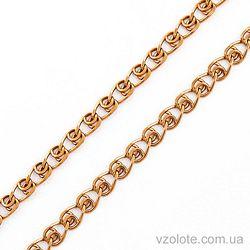 Золотая цепочка Лав (арт. 66937-5) 55 см