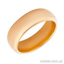 Золотое обручальное кольцо (арт. 340501)