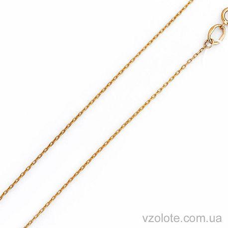 Золотая цепочка Якорная (арт. 306201) 40 см