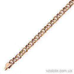 Золотой браслет Бисмарк (арт. 07084-8)