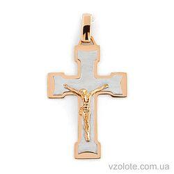 Золотой крест (арт. 501607кбм)