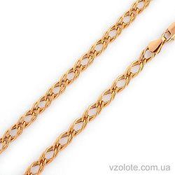 Золотая цепочка Двойной ромб (арт. 303108)