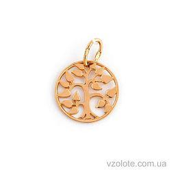 Золотой кулон Дерево жизни (арт. 3002897101)