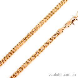 Золотая цепочка Двойной ромб (арт. 66975-7)