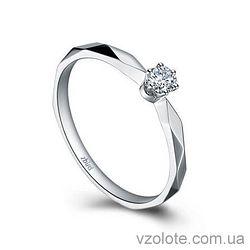 Золотое помолвочное кольцо с бриллиантом Little Princess (арт. ERDH53)