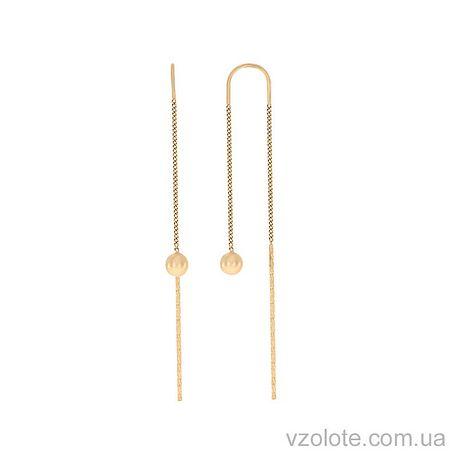 Золотые серьги-кольца (арт. 2002459101)