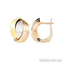 Золотые серьги (арт. 2002508141)