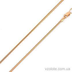 Золотая цепочка Снейк (арт. 304203)