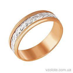 Золотое обручальное кольцо (арт. 1071)