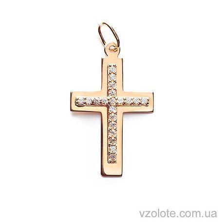Золотой крестик (арт. 541900)
