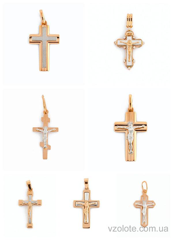 Золотые крестики - новинки