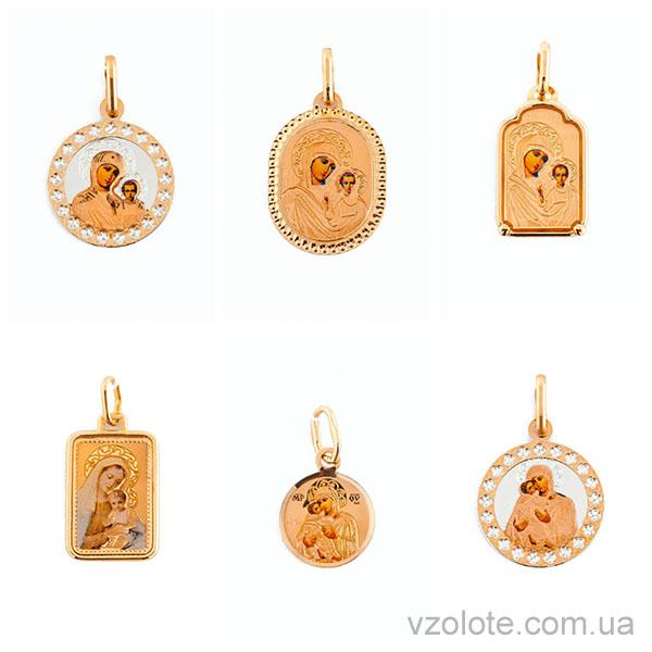 Новые модели ладанок из золота