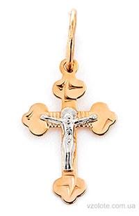 Одна из популярных моделей крестика для крещения