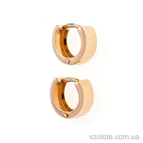 Золотые серьги (арт. 470428)
