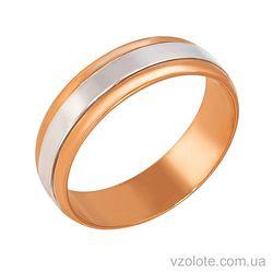 Золотое обручальное кольцо (арт. 1065-3)