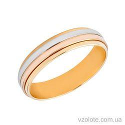 Золотое обручальное кольцо (арт. 471681)