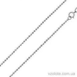 Цепочка из белого золота Перлина (арт. 300703б)