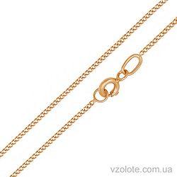 Золотая цепочка Панцирная (арт. 66938-1-5)