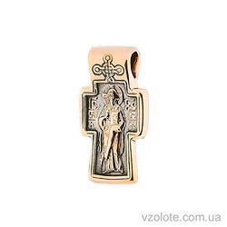 Золотой крест Господь Вседержитель (арт. п02639)