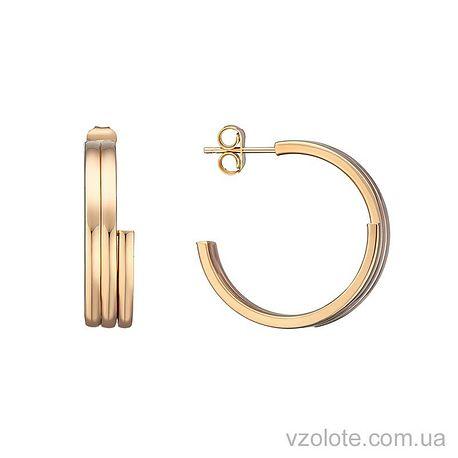 Золотые серьги (арт. 2004406101)