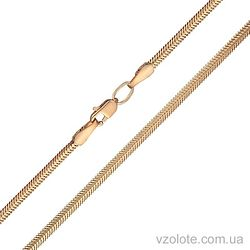Золотая цепочка плоский Снейк (арт. 5084071101)