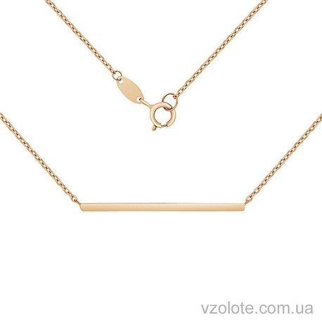 Золотое колье (арт. 7002552101)