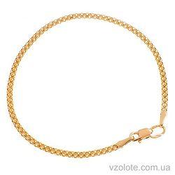 Золотой браслет Двойной якорь (арт. 4284761101)