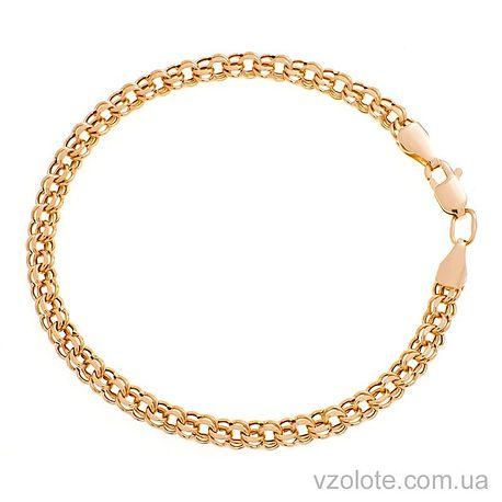 Золотой браслет Бисмарк (арт. 4124754101)