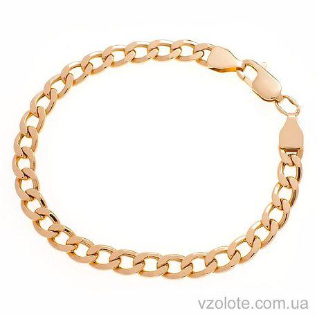 Золотой браслет Панцирный (арт. 4244760101)