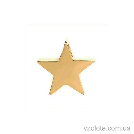 Подвес в лимонном золоте Звезда (арт. 3001198103)