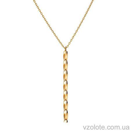 Золотое колье с подвеской (арт. 7005013101)
