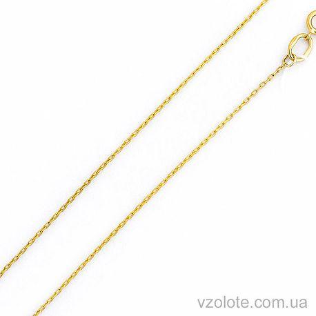 Цепочка из лимонного золота Якорная (арт. 306201ж)