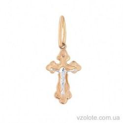 Золотой крестик с распятием (арт. 3003224112)