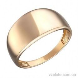 Золотое кольцо без камней Элора (арт. 1004287101)