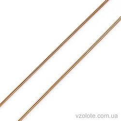 Золотая цепочка Снейк (арт. 66146-6)