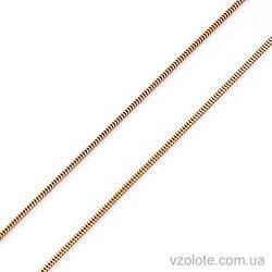 Золотая цепочка Снейк (арт. 66146-6) 50 см