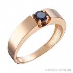 Золотое кольцо с сапфиром Элен (арт. 1191309201)