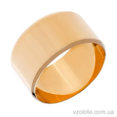 Золотое обручальное кольцо классическое Европейское (арт. 1001-11ев)