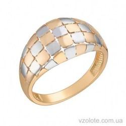 Золотое комбинированное кольцо Виталиана (арт. 1091451112)