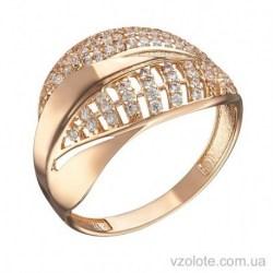 Золотое кольцо с фианитами (арт. 1104852101)
