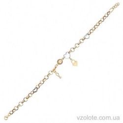 Золотой браслет с подвесками (арт. 4204815132)