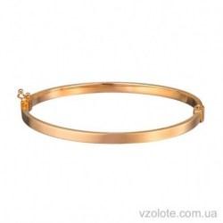 Золотой жесткий браслет Мирэль (арт. 4205434101)