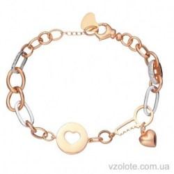Золотой браслет с подвесками Радость (арт. 4213215112)