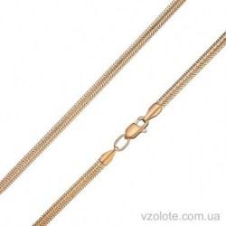 Золотая плоская цепочка Снейк (арт. 5085022101)