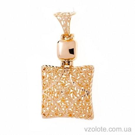 Золотая подвеска с алмазной гранью Власта (арт. 3091529101)