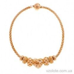 Золотой браслет с подвесками Шарм (арт. 4205694101)