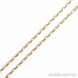 Золотая комбинированная цепочка Якорная (арт. 5076440112)